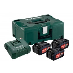 Pack 3 Batteries 18 volts + Chargeur ultra rapide